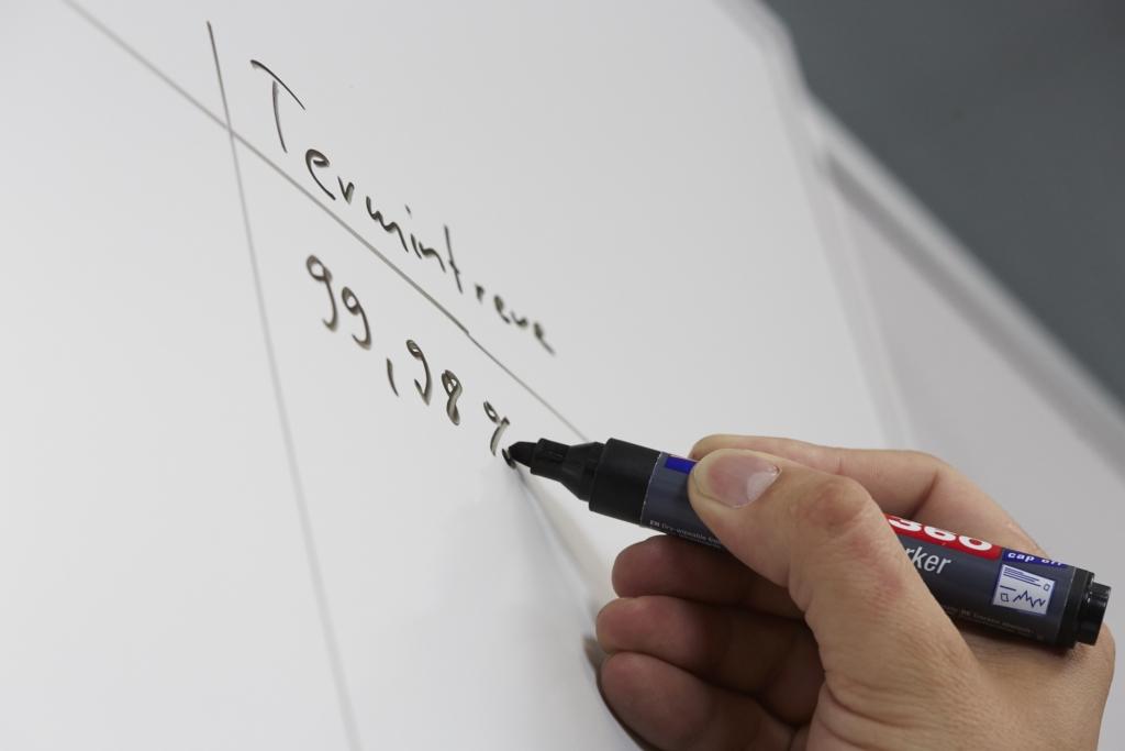 Notiz zur Analyse von 3D-Objekten an einem Whiteboard